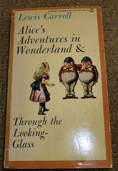 Lewis Carroll Alice's Adventures in Wonderland 1960 SIGNET