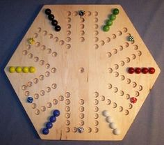 The puzzle-man toys w-1937 #wooden #marble game board - #aggravation - 50cm . hex,  View more on the LINK: 	http://www.zeppy.io/product/gb/2/162305284402/