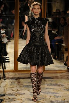 Fall 2012 Trend: Hide and Seek  Marchesa RTW Fall 2012