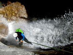 Die Energie des Wassers spüren!  Xconcepts #Canyoning #Allgäu Bild: Kobelach / Vorarlberg / Austria  #xconcepts #canyoningallgäu #canyoningsport #edelrid xconcepts.de