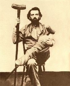 """Robert Andrew """"Clay"""" Allison, gunfighter: New Mexico, Bad Boy: Once asked what he did for a living, He replied, """" I'm a shootist"""". legendsofamerica.com"""