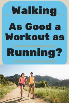 Is Walking as Good a Workout as Running? – Both are good for you, but each comes with different benefits Wake Up Workout, Best Cardio Workout, Fun Workouts, Workout Ideas, Fitness Tips, Health Fitness, Fitness Goals, Pilates, Walking Exercise