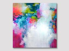Original abstract painting modern fine art acrylic painting