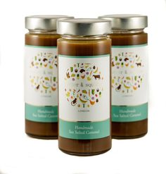 Our sea salted caramel has won 3 Great Taste stars and was named as one of the Top 50 products of Delivery in London and UK. London Cake, Sea Salt Caramel, Nigella Lawson, Macarons, Mason Jars, Bakery, Goodies, Handmade, Food