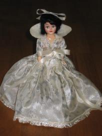2 Blue Bonnet Storybook Vintage Plastic Dolls
