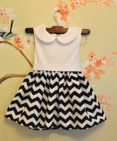 New Chevron Isabella Dress for Girls More by GracieMaeKids, $84.00