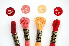 Find folk-inspired embroidery floss colors to use in your next stitching project. Diy Bracelets Patterns, Thread Bracelets, String Bracelets, Dmc Embroidery Floss, Embroidery Patterns, Wild Olive, Cross Stitch Floss, Diy Friendship Bracelets Patterns, Bracelet Crafts