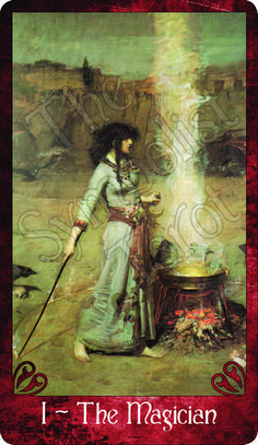 The Magician ~ The Symbolist Tarot ~ View the Campaign ~ http://kck.st/K5P3Gw