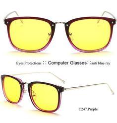 IVSTA Anti radiation glasses computer eyewear anti blue ray UV400 HD Lenses 2016 New Fashion Eye protection for designer 8111