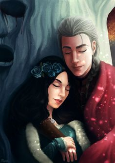 """fabioalencarart: """"R + L = J Always wanted to make a fan art of Rhaegar and Lyanna together. I'm pretty sure that she has not been kidnapped. Instead, they lived a beautiful love story (that turned. Arya Stark, Rhaegar Y Lyanna, Brown Hair And Grey Eyes, Jon Snow, Daenerys Targaryen, The North Remembers, Legends And Myths, Game Of Thrones Art, Beautiful Love Stories"""
