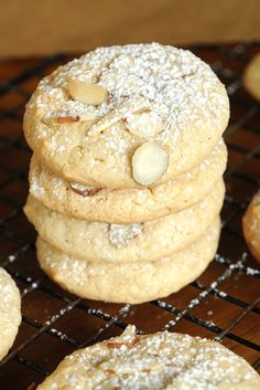 Simply Gourmet: 175. Almond Macaroons, the cookie