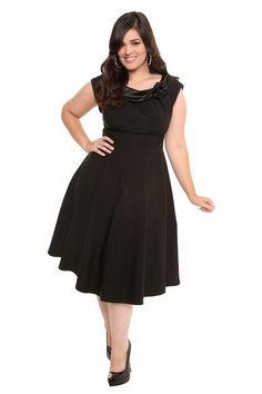 Tiffany plus-size dress from Torrid, perfect for those holiday soirees that pop up left and right next month!