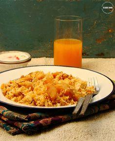 Yummy Food: Aloo Dum Biryani/Potato Pilaf