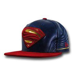 827b0dd0d5cf Batman Vs Superman Superman Symbol Hat 5950 Dawn of Justice Hat Superman  Superman