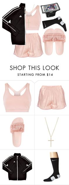 """""""ca$ual."""" by l0vekennedyy ❤ liked on Polyvore featuring adidas, Anine Bing, Puma, Michael Kors and NIKE"""