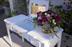 Coordination & Florals by: Breezy Day Weddings Venue: Porto Vista Hotel