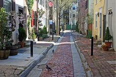 Washington Square West in the Historic District of Philadelphia. Go walk the streets of our Founding Fathers!