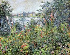 Fleurs à Vétheuil (C Monet - W 692) | Huile sur toile, 60 x … | Flickr