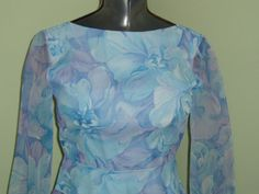 SALE  70s Vintage Posh by Jay Anderson Blue by LuLusVintageMart, $15.00
