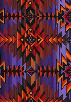 Timeless Treasures Fabric Southwest Sunset by BelloBerryFabricShop, $8.00(Make a quilt top that looks like This)