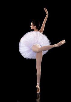 Balet Half Tutu Bílá