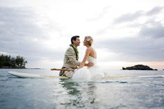 I would love to have a wedding photo like this! Big Island, Hawaii