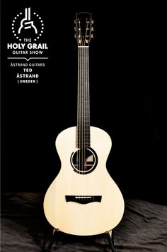 Exhibitor at The Holy Grail Guitar Show 2014: Ted Åstrand, Åstrand Guitars, Sweden  http://www.astrandguitars.com http://www.facebook.com/astrandguitars http://holygrailguitarshow.com