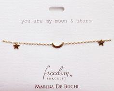 Marina De Buchi Freedom Bracelet Moon And Stars