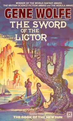 The Book of the New Sun The Sword of the Lictor von Gene Wolfe Fantasy Book Covers, Book Cover Art, Book Art, Cool Books, Sci Fi Books, My Books, Fantasy Words, Fantasy Art, Fantasy Fiction
