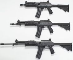 Galil ACE models 22 and 23 rifles (from top to bottom) Military Weapons, Weapons Guns, Guns And Ammo, Assault Weapon, Assault Rifle, Battle Rifle, Hunting Guns, Cool Guns, Firearms