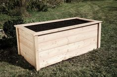 how to on raised veggie garden. in german? no problem for me :D