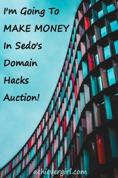 Can you really make money selling domain names? Find out how I do in Sedo's Domain Hacks Auction at www.achievergirl.com Make Money From Home, Way To Make Money, Make Money Online, The Last Leg, Online Marketing Strategies, Personal Injury Lawyer, Yet To Come, What To Make, Flipping