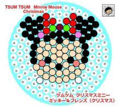 tsum tsum クリスマス ミニー
