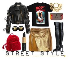 """Street Style"" by adswil ❤ liked on Polyvore featuring James Bond 007, STELLA McCARTNEY, Gucci, Mykita, Miu Miu, FAUSTO PUGLISI and Chanel"