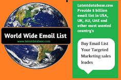 http://www.latestdatabase.com/macao-buyers-list/Its our latest top site #emaildatabasemarketing from latest database.If you want to know about our  company service, then you visit it.....
