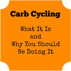 An explanation of what carb cycling is and why it's a good eating plan to follow. Includes an easy-to-follow plan for carb cycling.