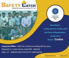 Safety Training, Last Date, High Level, Training Programs, Health And Safety, Dates, India, Link, Workout Programs