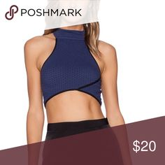 Sexy crop top Super sexy crop top worn once -retails for $50  Brand is Whitney Eve -ordered from revolve website. Cheaper on merc Whitney Eve Tops Crop Tops
