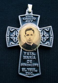 Vintage 1970s Religious Cross Rosary Priest Mexico Medallion Catholic