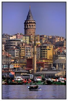 Galata tower, Istanbul. I love this city.