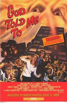 Worth a look. Interesting Larry Cohen flick that has a unique horror all its own.