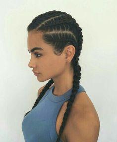 ☆P A ZA X I ☆pinterest braids