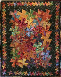 Kaffe Fassett Twister pre-made finished quilted throw (wall hanging, modern, Kaffe, Philip Jacobs, )
