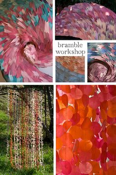 Amazing backdrops by Bramble Workshop