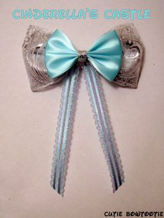 Hey, I found this really awesome Etsy listing at http://www.etsy.com/listing/117909129/cinderellas-castle-hair-bow-disney-world