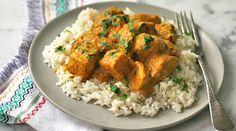 Indian-style chicken in cashew sauce