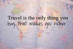 How to budget travel into your lifestyle - http://avec-amour.blogspot.com/2014/01/how-to-budget-travel-into-your.html