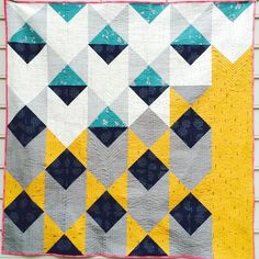 Moorish Pyramids Pattern designed by Michelle Wilkie