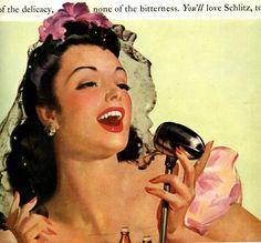 vintage pinup 1942 advertisement