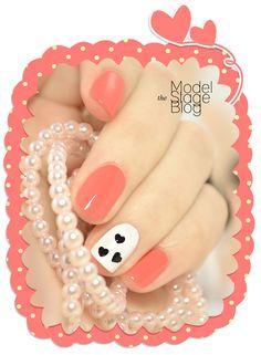 Valentine's day nail art tutorial